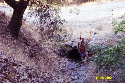 Before: This culvert is slightly undersized and prone to plugging from debris during high flow events